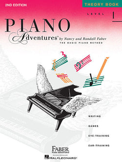 Piano Adventures - Theory Book, Level 1 - Canada