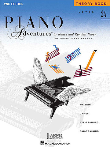 Piano Adventures - Theory Book, Level 2A - Canada