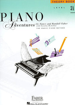 Piano Adventures - Theory Book, Level 3A - Canada