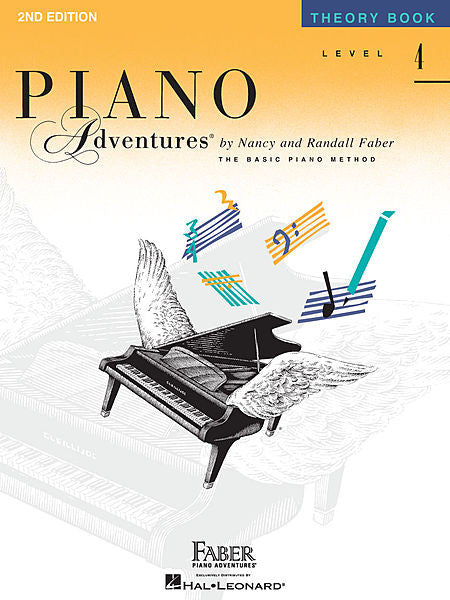 Piano Adventures - Theory Book, Level 4 - Canada