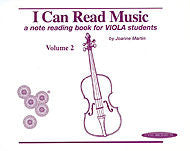 I Can Read Music, Volume 2 (Viola) - Canada