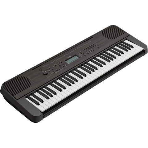 Yamaha PSR-E360DW Portable Keyboard (Dark Wood)