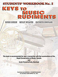 Keys to Music Rudiments - Students' Workbook No. 2 - Canada