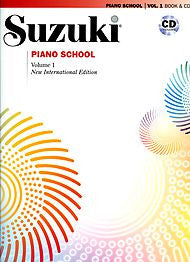 Suzuki Piano School - Volume 1 (w/CD) - Canada