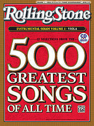 Selections from Rolling Stone Magazine's 500 Greatest Songs of All Time, Volume 1 (Viola) - Canada