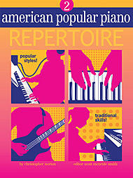 American Popular Piano Repertoire - Level 2 (w/CD) - Canada