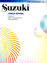 Suzuki Violin School, Volume 1 - Piano Accompaniment - Canada
