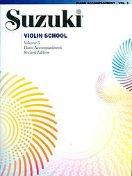 Suzuki Violin School, Volume 3 - Piano Accompaniment - Canada