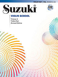 Suzuki Violin School, Volume 4 - Violin Part (w/CD) - Canada