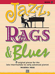 Martha Mier - Jazz, Rags & Blues - Book 5 (Piano Solo) - Canada