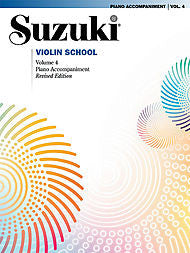 Suzuki Violin School, Volume 4 - Piano Accompaniment - Canada