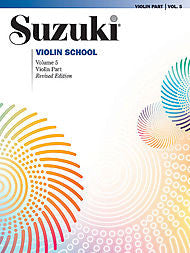 Suzuki Violin School, Volume 5 - Violin Part - Canada