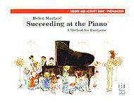 Succeeding At The Piano, Theory and Activity Book - Preparatory - Canada