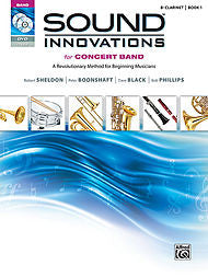 Sound Innovations For Concert Band - Bb Clarinet, Book 1 (w/CD/DVD) - Canada