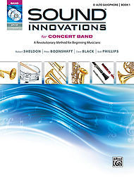 Sound Innovations For Concert Band - Eb Alto Sax, Book 1 (w/CD/DVD) - Canada