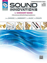 Sound Innovations For Concert Band - Combined Percussion, Book 1 (w/CD/DVD) - Canada