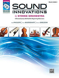 Sound Innovations For String Orchestra - Cello, Book 1 (w/CD/DVD) - Canada