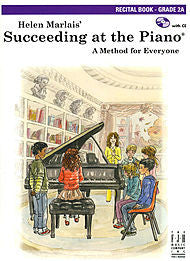 Succeeding At The Piano, Recital Book - Grade 2A (w/CD) - Canada