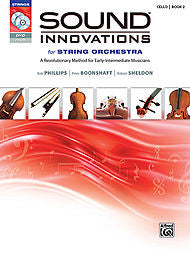 Sound Innovations For String Orchestra - Cello, Book 2 (w/CD/DVD) - Canada