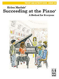 Succeeding At The Piano, Theory and Activity Book - Grade 2B - Canada