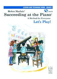 Succeeding At The Piano, Lesson & Technique Book - Grade 3 (w/CD) - Canada