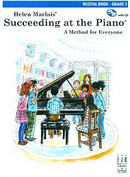 Succeeding At The Piano, Recital Book - Grade 3 (w/CD) - Canada