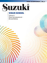 Suzuki Violin School, Volume 6 - Piano Accompaniment - Canada
