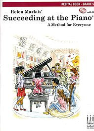 Succeeding At The Piano, Recital Book - Grade 5 (w/CD) - Canada
