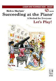 Succeeding At The Piano, Lesson & Technique Book - Grade 5 (w/CD) - Canada