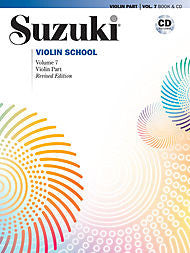 Suzuki Violin School, Volume 7 - Violin Part (w/CD) - Canada