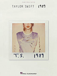 Taylor Swift - 1989 (Piano/Vocal/Guitar) - Canada