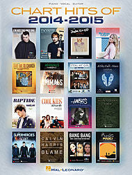 Chart Hits of 2014-2015 (Piano/Vocal/Guitar) - Canada