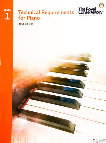 RCM Technical Requirements for Piano - Level 1