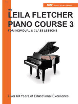 Leila Fletcher Piano Course, Book 3 - Canada
