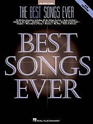 The Best Songs Ever, 6th Edition (Big Note) - Canada