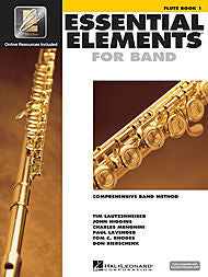 Essential Elements For Band - Flute, Book 1 (w/CD & EEi) - Canada