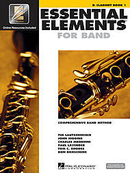 Essential Elements For Band - Bb Clarinet, Book 1 (w/CD & EEi) - Canada
