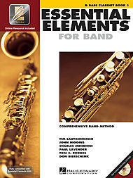 Essential Elements For Band - Bb Bass Clarinet, Book 1 (w/CD & EEi) - Canada