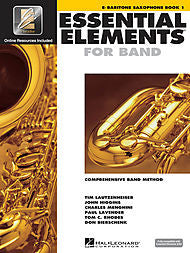 Essential Elements For Band - Eb Baritone Saxophone, Book 1 (w/CD & EEi) - Canada