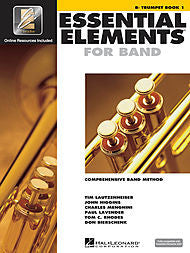 Essential Elements For Band - Bb Trumpet, Book 1 (w/CD & EEi) - Canada