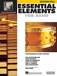 Essential Elements For Band - Percussion, Book 1 (w/CD & EEi) - Canada