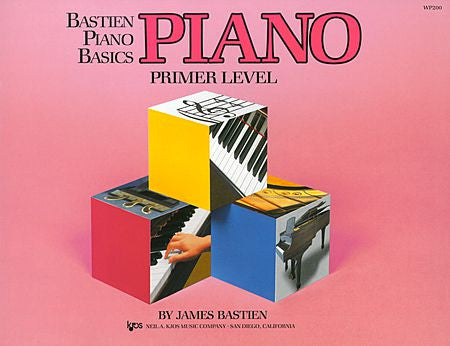 Bastien Piano Basics, Primer, Piano By: James Bastien - Canada