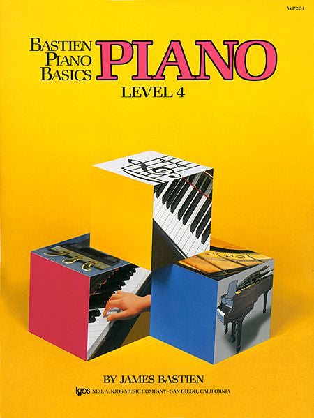 Bastien Piano Basics, Level 4, Piano By: James Bastien - Canada