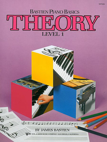 Bastien Piano Basics, Level 1, Theory - Canada