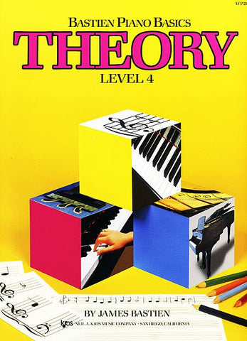 Bastien Piano Basics - Theory Level 4 - Canada