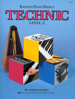 Bastien Piano Basics, Level 2, Technic - Canada