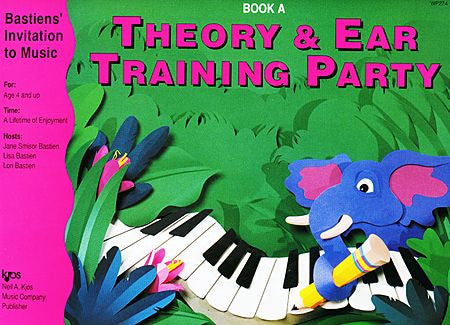 Bastiens' Invitation to Music - Theory & Ear Training Party Book A - Canada
