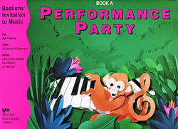 Bastiens' Invitation to Music - Performance Party Book A - Canada