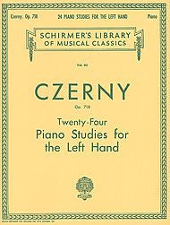 Carl Czerny - 24 Studies for the Left Hand, Op. 718  (Piano Technique) - Canada