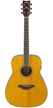 Yamaha FG TransAcoustic Guitar w/Solid Spruce Top - Vintage Tint